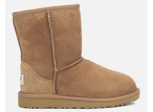 UGG Kids\' Classic Boots - Chestnut - UK 12 Kids - Tan(50496310)