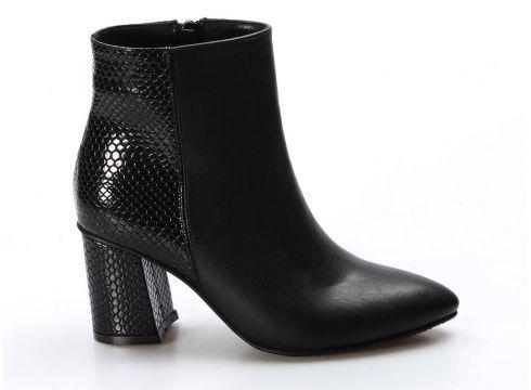 FAST STEP Siyah Kroko Kadın Bot(124318722)