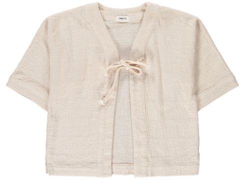 Cardigan aus Baumwolle mit Schelife(113868217)