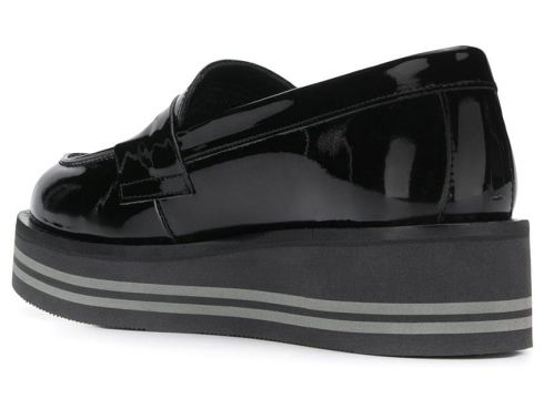 Tommy Hilfiger mocassins à semelle plateforme - Noir(76589980)