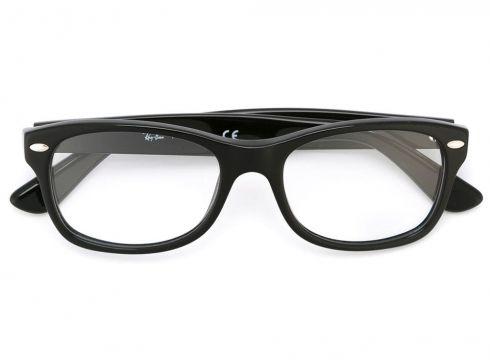 Ray Ban Junior lunettes de vue rectangulaires - Noir(65464599)