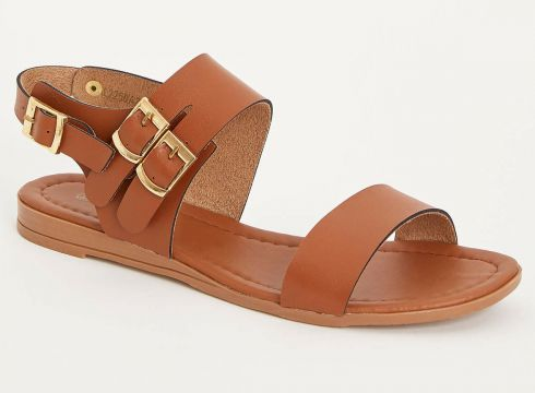 DeFacto Kadın Tokalı Sandalet(104881253)