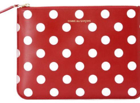 Portefeuille Comme Des Garcons Pochette rectangulaire Comme Des Garçons Wallets rouge à(115435543)