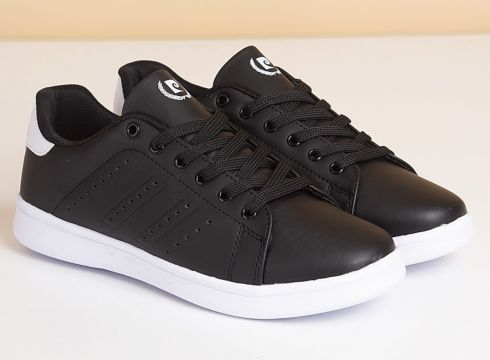 Pierre Cardin Siyah-Beyaz Kadın Yürüyüş Ayakkabısı(113623366)
