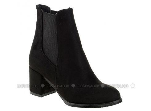 Black - Boot - Boots - DERİGO(110339475)