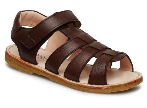 Sandals - Flat - Open Toe - Op Sandalen Braun ANGULUS(109200384)