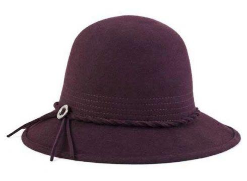 Brixton Kat Hat Wine Felt Hut Gr. M(77153115)