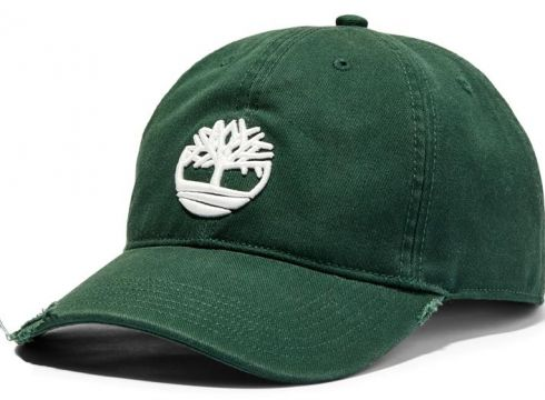 Distressed Baseball Cap with Tree Logo(115242275)