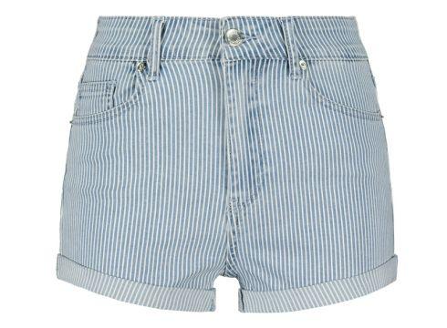 Gestreifte Denim Shorts(111016594)