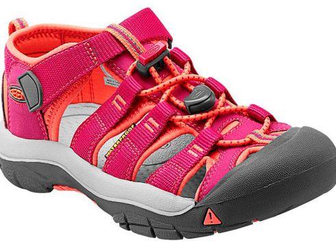 Keen Newport H2 Fuşya Somon Unisex Çocuk Deri Sandalet - FLO Ayakkabı(68123678)
