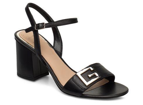 Mack/Sandalo /Leather Sandale Mit Absatz Schwarz GUESS(109200400)
