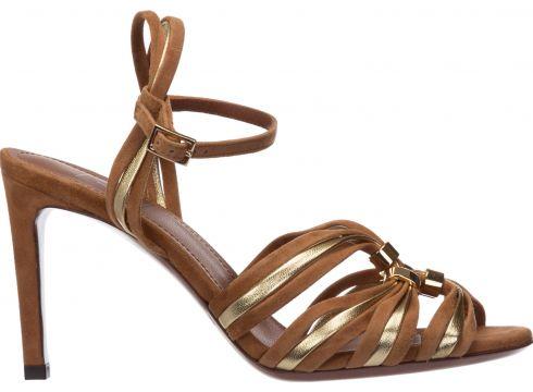 Women's suede heel sandals(118318861)