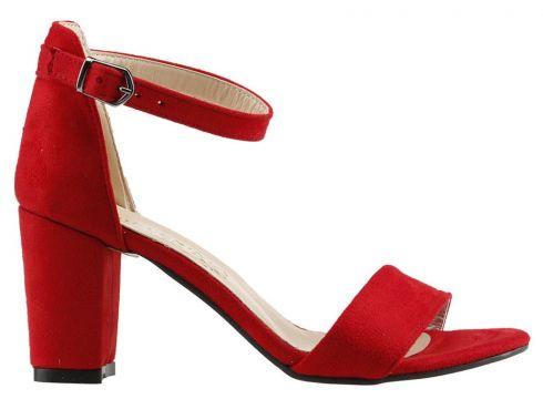 Ayakland Kırmızı Kadın Topuklu Ayakkabı(120182489)