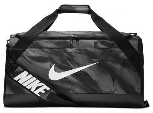 Nike Nk Brsla M Duff - Aop Koyu Gri Siyah Unisex Şapka - FLO Ayakkabı(70177874)