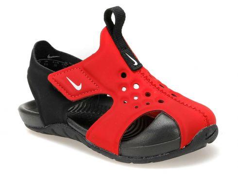 Nike Sunray Protect 2 (td) Kırmızı Siyah Erkek Çocuk Sandalet - FLO Ayakkabı(81753672)