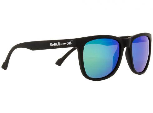 Red Bull SPECT Eyewear LAKE-004P Black smoke with green mirror p(97845043)