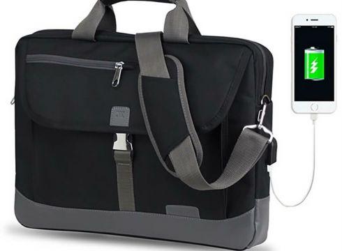 My Valice Oxford Laptop Çantasi Siyah Unisex Postacı Çantası - FLO Ayakkabı(81122925)