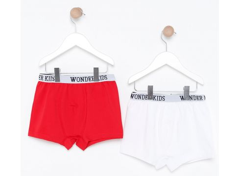 Sous-vêtements Pour Enfants Wonder Kids Blanc / Rouge(102887766)