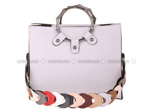Gray - Shoulder Bags - Modeva(110321741)