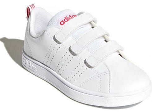 adidas VS ADV CL CMF C Beyaz Pembe Kız Çocuk Sneaker - FLO Ayakkabı(89296354)