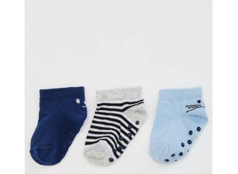 DeFacto Erkek Bebek 3\'lü Çorap(108988502)